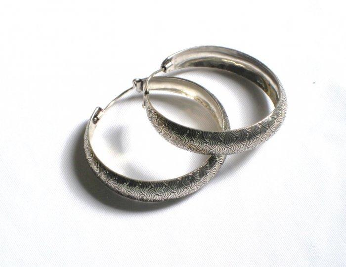 AQ073     Earrings in Sterling Silver