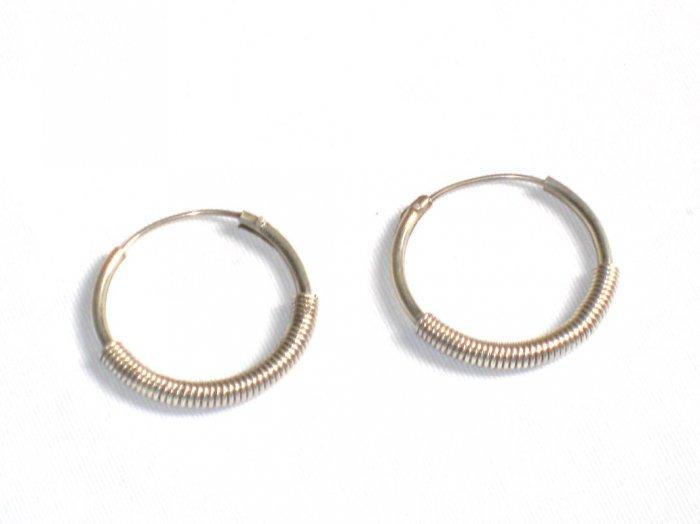 AQ074     Earrings in Sterling Silver