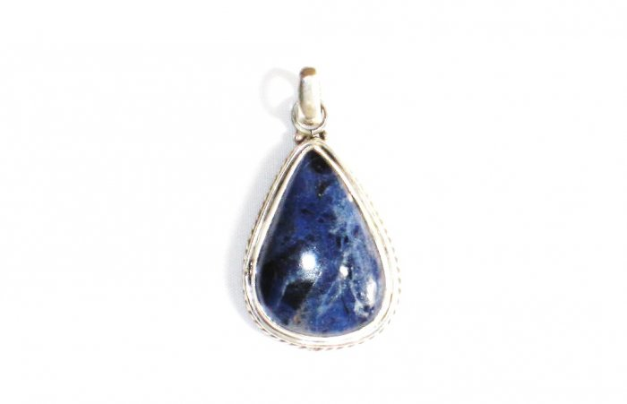 PN206 Lapis Lazuli Pendant in Sterling Silver - SOLD