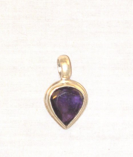 PN402 Lapis Lazuli Pendant in Sterling Silver