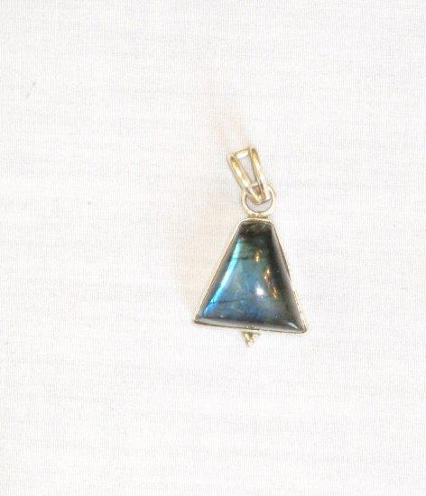 PN456 Labradorite Pendant in Sterling Silver