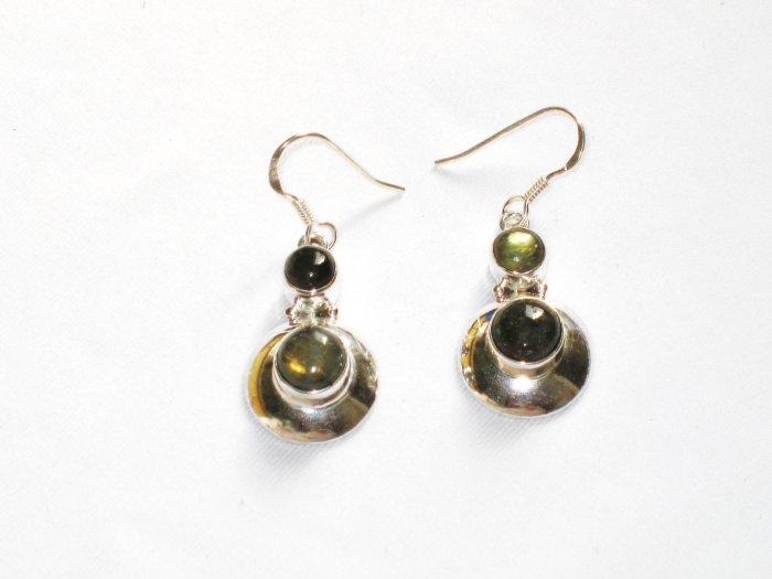 ER067 Amethyst Earrings set in sterling silver