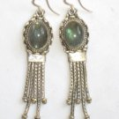 ER012 Labradorite Earrings set in sterling silver