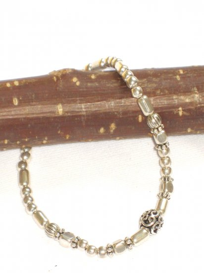 ST274 Oxidized Sterling Silver Bracelet
