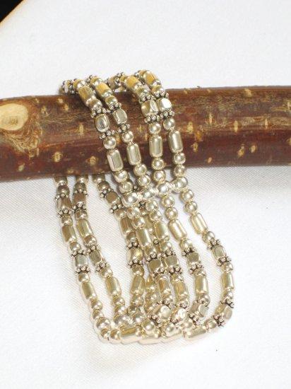 ST276 Oxidized Sterling Silver Bracelet
