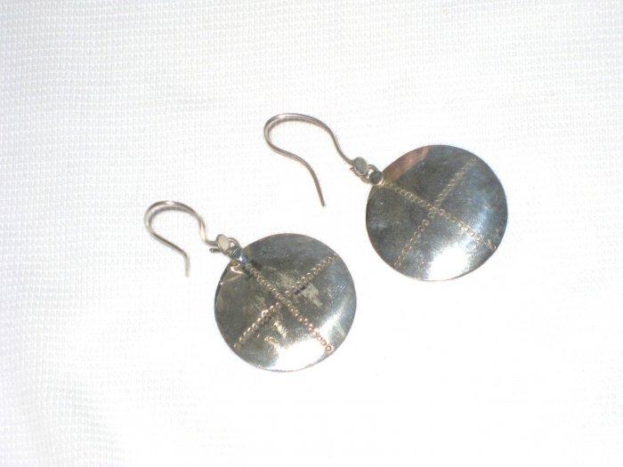 ST402 Oxidized Sterling Silver Earrings