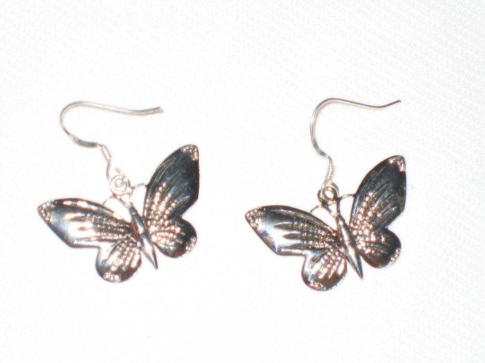 ST405 Oxidized Sterling Silver Earrings