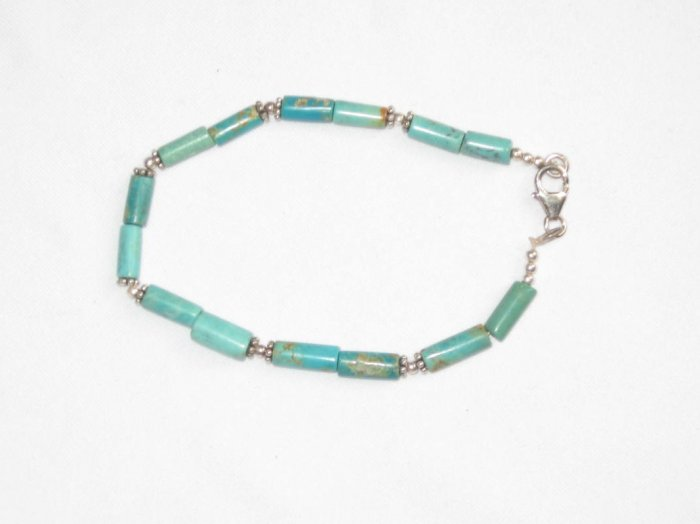 ST050  Turquoise Bracelet in Sterling Silver