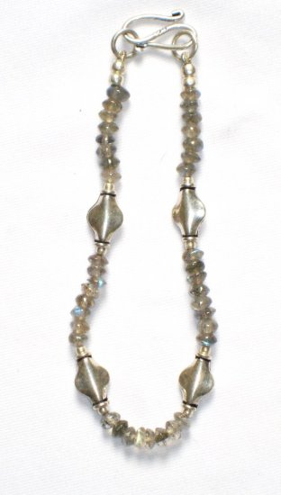 ST015 Labradorite Bracelet  in Sterling Silver