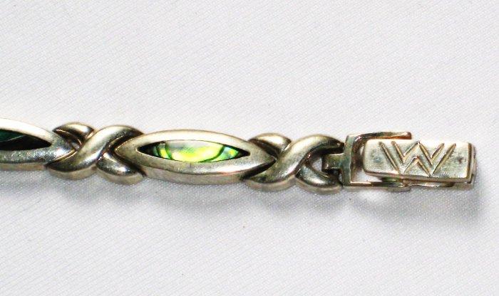 ST017 Labradorite Bracelet  in Sterling Silver