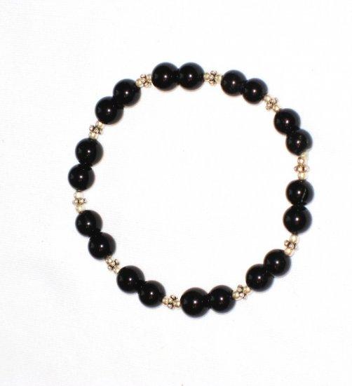 ST165 Onyx Bracelet in Sterling Silver