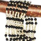 ST565 Onyx Bracelet in Sterling Silver