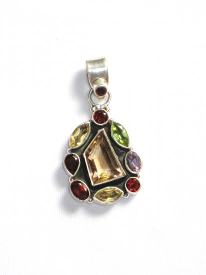 ST228 Smoky Quartz Pendant in Sterling Silver - SOLD