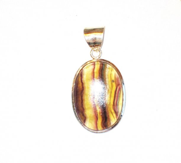 PN104 Agate Pendant in Sterling Silver