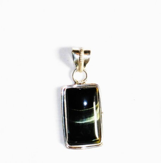 PN190 Agate Pendant in Sterling Silver