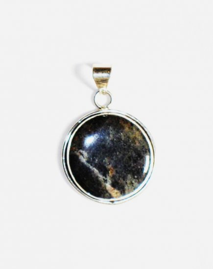 PN208 Agate Pendant in Sterling Silver