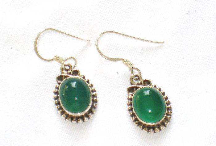 ER096 Opalite Earrings in Sterling Silver