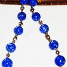 ST422 Blue Jasper Necklace in Sterling Silver