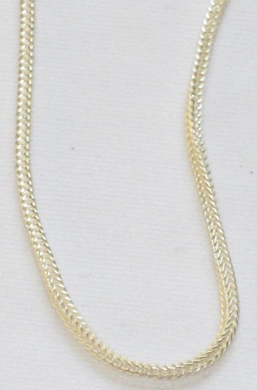 AQ171  16 and 18 inch   Antique Silver Chain