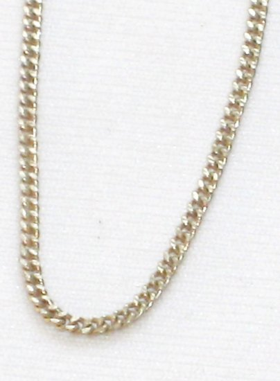 AQ172  18 inch   Antique Silver Chain