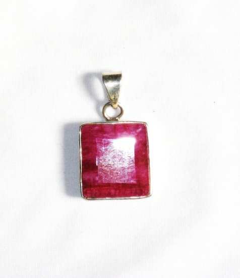 PN156       Pink Agate Pendant in Sterling Silver