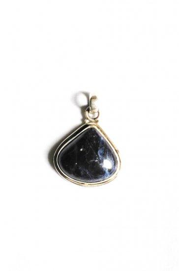 PN227       Sodalite Pendant in Sterling Silver