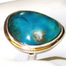 RG146       Turquoise Ring in Sterling Silver, Size 7