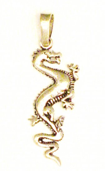 CP005       Dragon Pendant in Sterling Silver