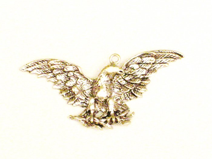 CP009       Flying Eagle Pendant in Sterling Silver