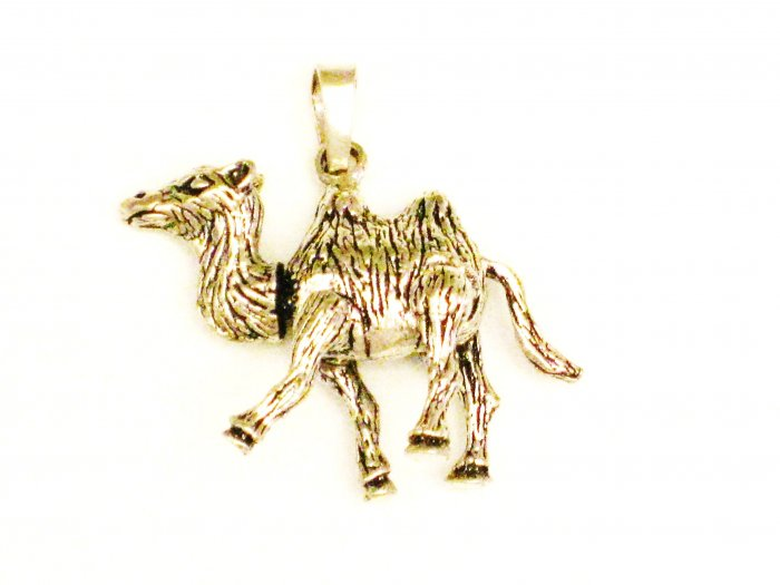 CP010       Camel Pendant in Sterling Silver