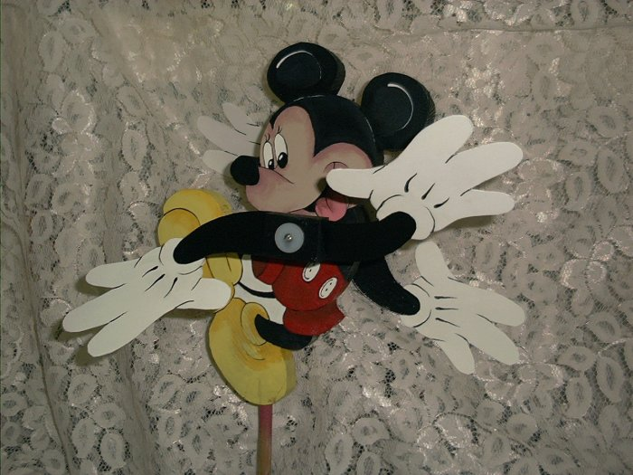 Disney -Mickey Mouse Whirligig- wind motion, mobile