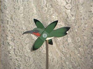 Hummingbird Whirligig- wind, motion, mobile