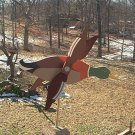 Mallard Duck Whirligig- Wind, Motion, Mobile