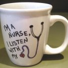 Personalized Coffee Mug 12Oz.  NURSE