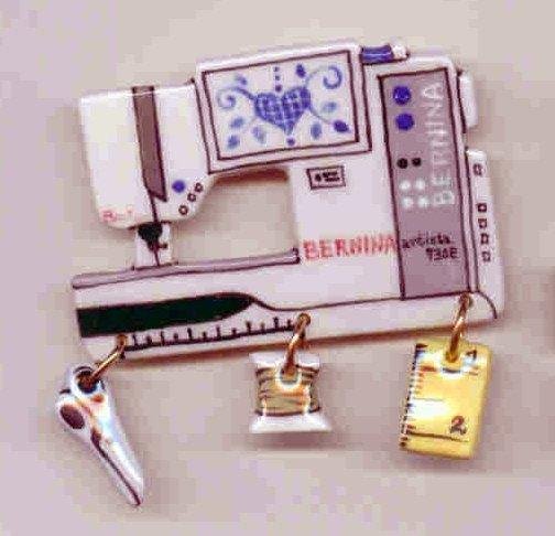 Decorative Sewing Machine Pin- BERNINA 730E