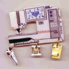 Decorative Sewing Machine Pin- BERNINA 730E