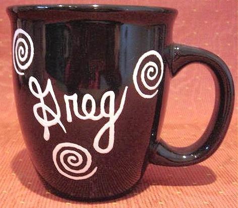 Personalized Coffee Mug 12Oz. Black Mug