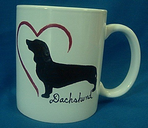 Personalized Coffee Mug 12Oz.   DACHSHUND DOG