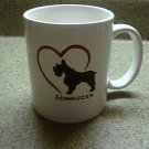 Personalized Coffee Mug 12Oz.  SCHNAUZER DOG