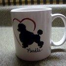 Personalized Coffee Mug 12Oz.   POODLE DOG