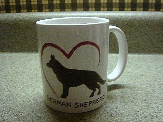 Personalized Coffee Mug 12Oz.  GERMAN SHEPHERD DOG
