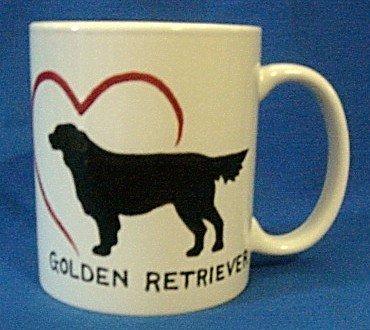 Personalized Coffee Mug 12Oz. GOLDEN RETRIEVER DOG