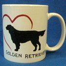 Personalized Coffee Mug 12Oz. GOLDEN RETRIEVER DOG