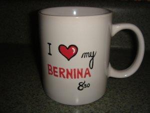 Personalized Mug - I LOVE MY BERNINA 830