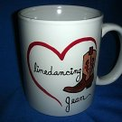Handpainted Personalized Mug   LINEDANCING