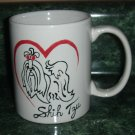 Handpainted Personalized Mug   SHIH TZU