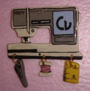 Ceramic Sewing Machine Pin   PFAFF Creative Vision