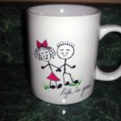 Personalized Ceramic Mug Stick People Lovers Life is good