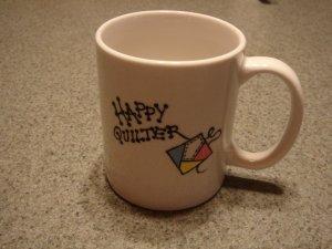 Personalized Ceramic Mug    Happy Quilter