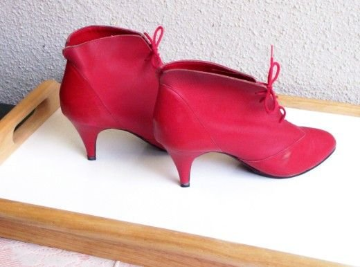 SOLD! Mr Shoes By Marken Footwear THE RED SHOES! Made in Brazil  FREE SHIPPING!